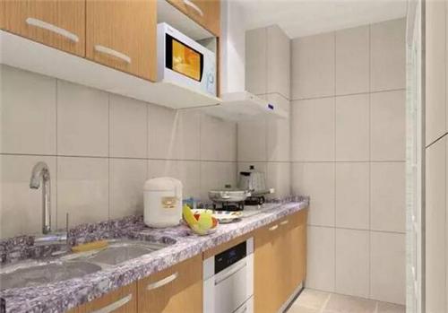 小厨房装修图 5平米温馨小厨房装修