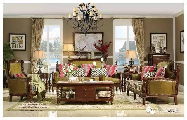美式家具的基础是欧洲文艺复兴后期各国移民所带来的生活方式,将英图片