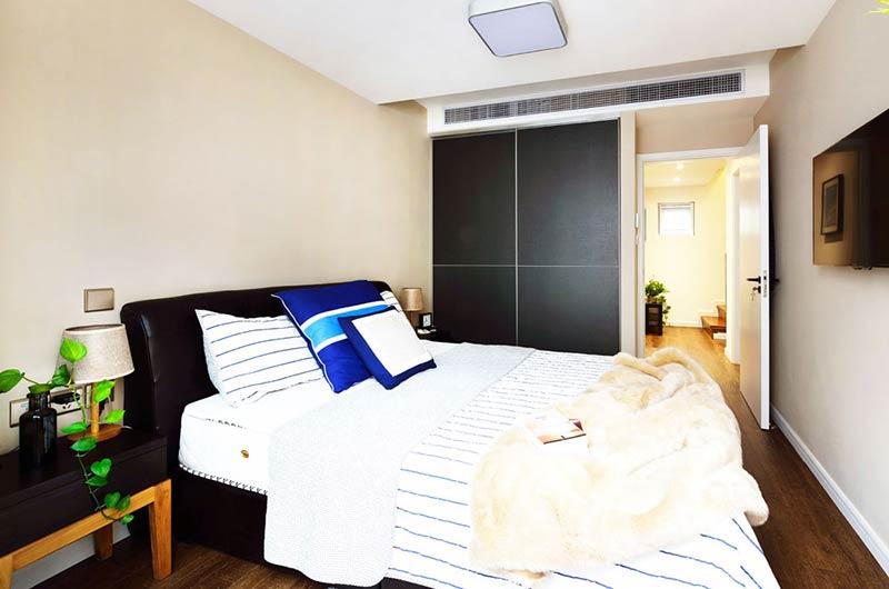 220平小复式装修卧室效果图