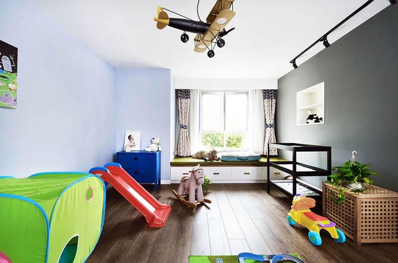 220平小复式装修儿童房设计图图片
