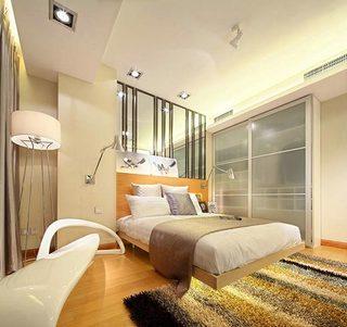 50平米卧室装修装饰效果图