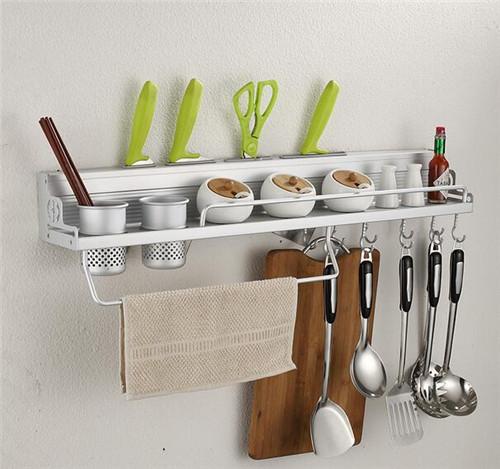厨房挂件置物架图片 厨房置物架有什么优点