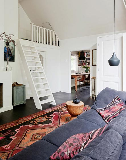 现代风格楼梯设计平面图