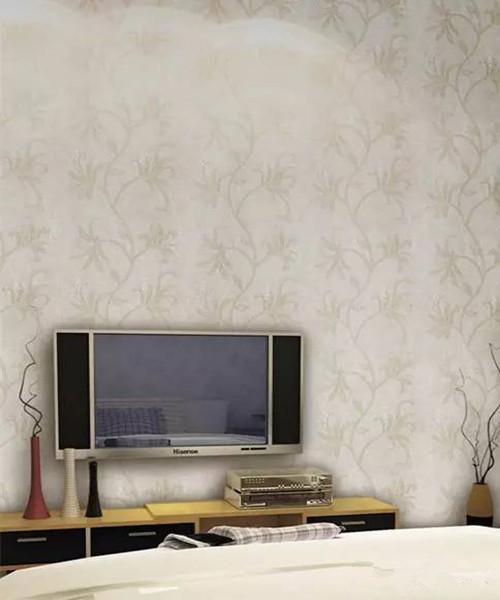 电视背景墙壁布效果图 壁布电视背景墙装修最抢眼
