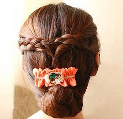 新娘长发发型图片 长发新娘发型详细步骤_新娘造型