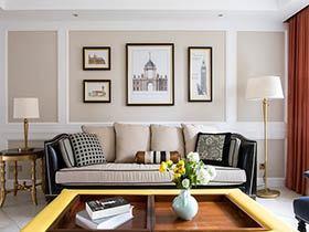 130平美式风格四房装修效果图 轻奢新风尚