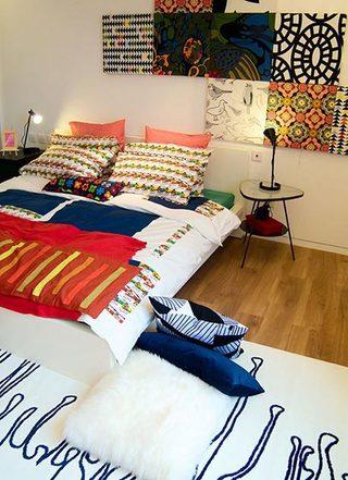 卧室背景墙平面图