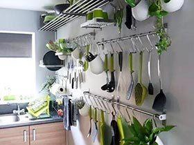 将整洁坚持到底  10款厨房收纳布置图
