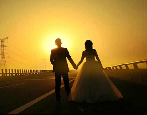 婚纱图片唯美背影欣赏 处理唯美图片用什么软件