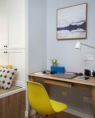 北欧风格小三室装修书房效果图装修
