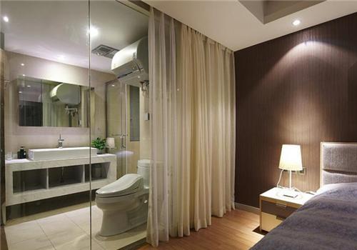 北京主卧室卫生间装修效果