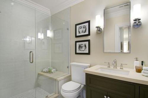 75平米装修效果图之浴室