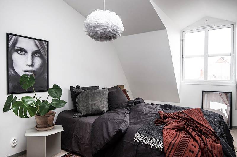 35平单身公寓装修卧室效果图设计