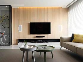 现代简约风格三居室装修图片 任月光流淌