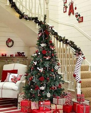 室内圣诞节布置效果图