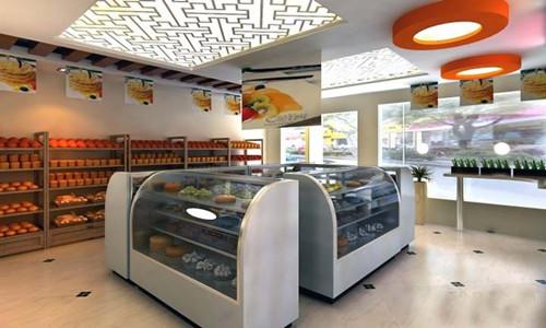 蛋糕店装修效果图大全 装出有个性的蛋糕店