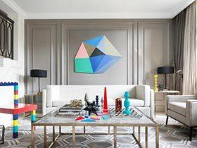 30万打造混搭风格公寓  玩具色彩之家