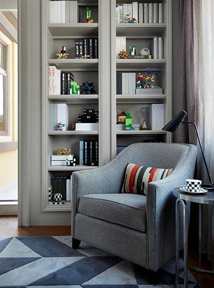 书房沙发装修效果图