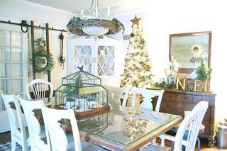 圣诞餐厅装饰效果图