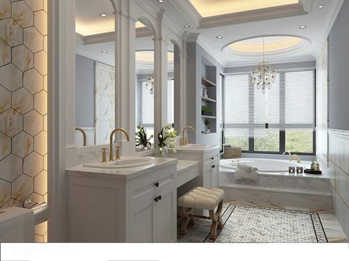 美式洗手间装修效果图 是时候给卫生间换个新面貌了