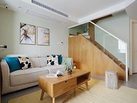 95㎡日式两居室效果图  蜗牛的大房子