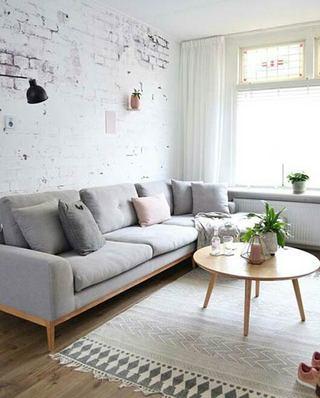 北欧风格客厅茶几效果图