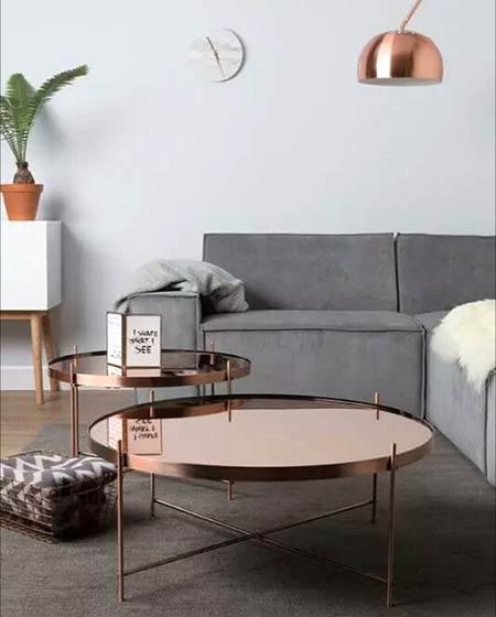 北欧风格时尚客厅茶几效果图