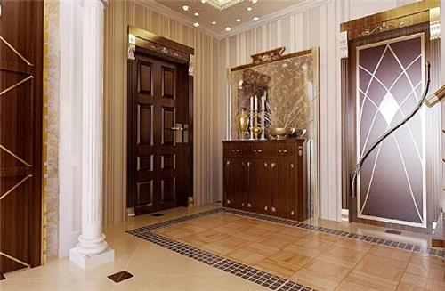 欧式玄关装修效果图 欧式风格入户玄关设计