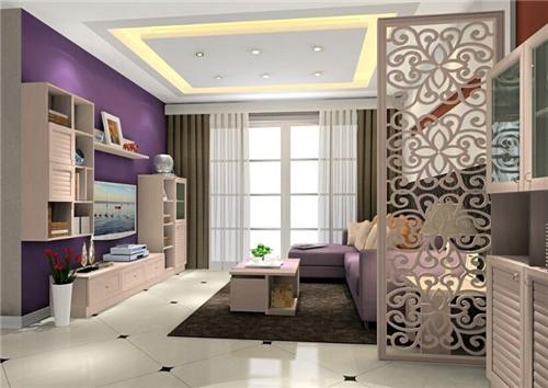小户型欧式客厅装修效果图 温馨典雅欧式客厅装修图片