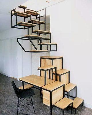 10个木质楼梯装修效果图 生活充满创意5/10