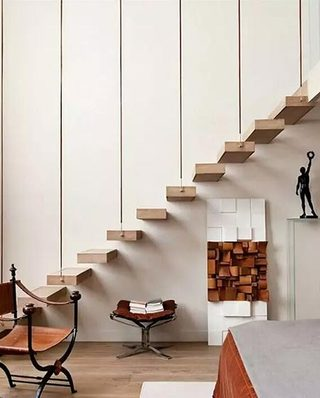 木质结构房屋楼梯设计图