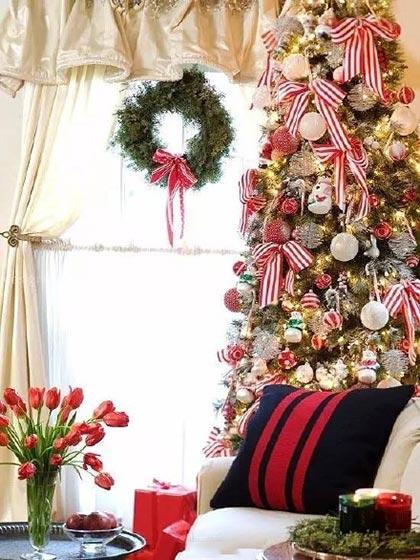 圣诞客厅布置平面图
