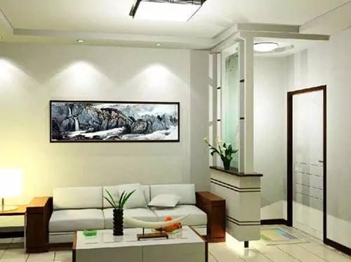 玄关隔断装修效果图大全 客厅玄关隔断装修创意无限