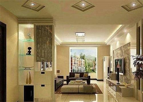 资讯 案例 按空间查看 正文  这是一款现代风格的家居装修,客厅和玄关图片