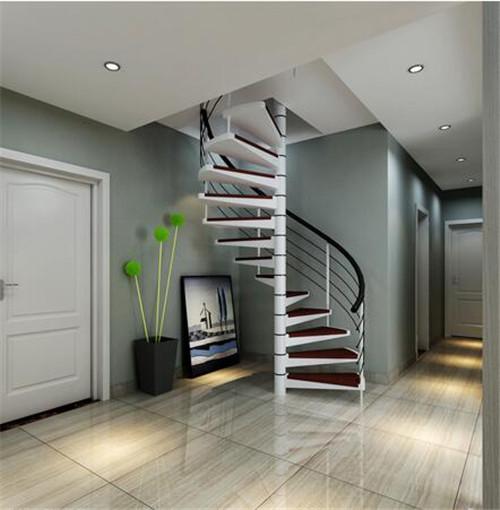 旋转楼梯装修效果图 创意旋转楼梯给你不一样的惊喜图片