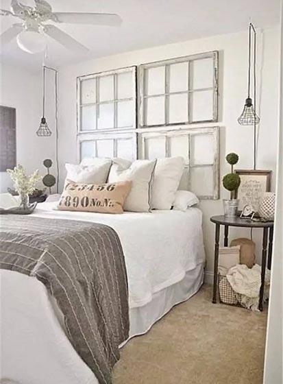 卧室床头背景平面图