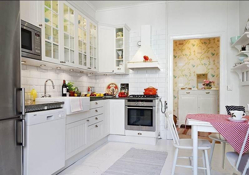 小厨房装修效果图 小户型厨房装修设计