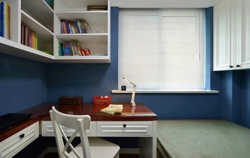 孩子书房装修效果图 儿童小书房设计让你爱上学习图片