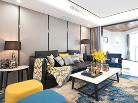 150平简约风格三居室装修 温馨港式风情