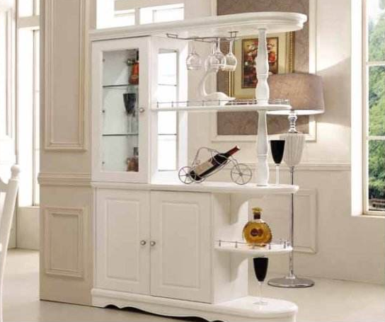 客厅隔断柜效果图 巧用隔断柜打造充实空间