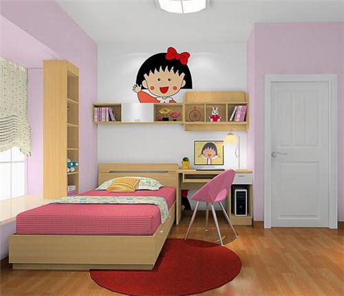 女孩儿童房设计布置技巧 女孩房间装修效果图图片