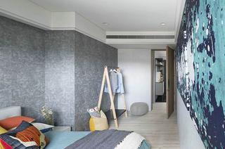 简约风格公寓装修卧室壁纸图片