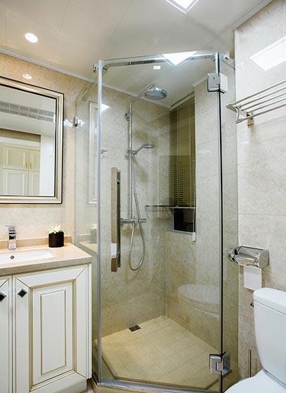 浴室玻璃隔断图片