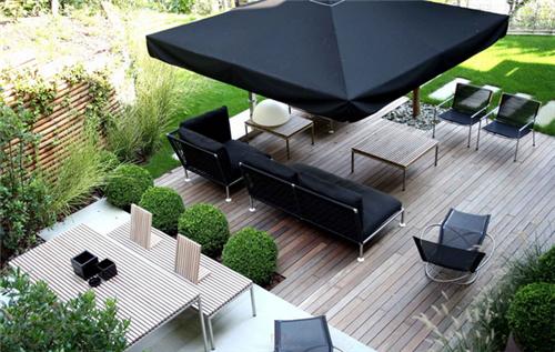 别墅庭院装修效果图欣赏 各式风格别墅庭院装修设计案例