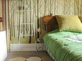 我的浪漫小屋  10款森系卧室图片