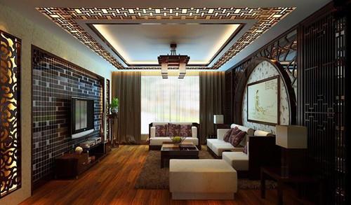 客厅吊顶灯带效果图 时尚温馨吊顶灯带装修