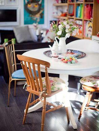 餐厅餐桌装饰图片大全
