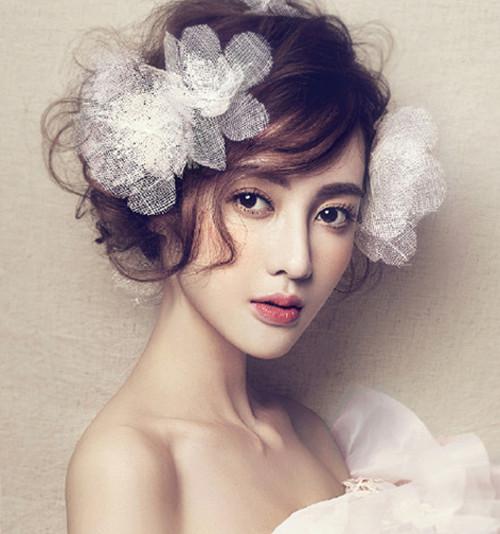 韩国新娘发型款式新娘发型步骤 新娘造型 婚庆百科 齐家网图片