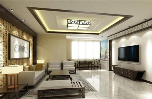 简约中式客厅装修效果图 简约中式客厅装修设计原则