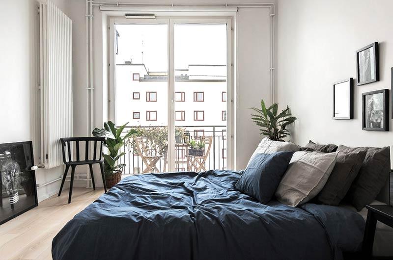 简约北欧风公寓主卧室设计